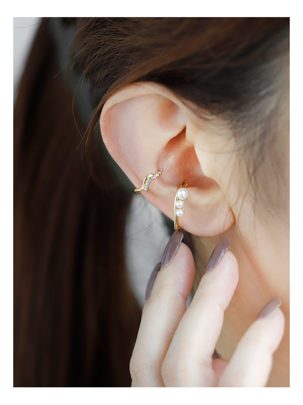 ANEMONEで叶える、大人かわいい旬な耳元コーデ